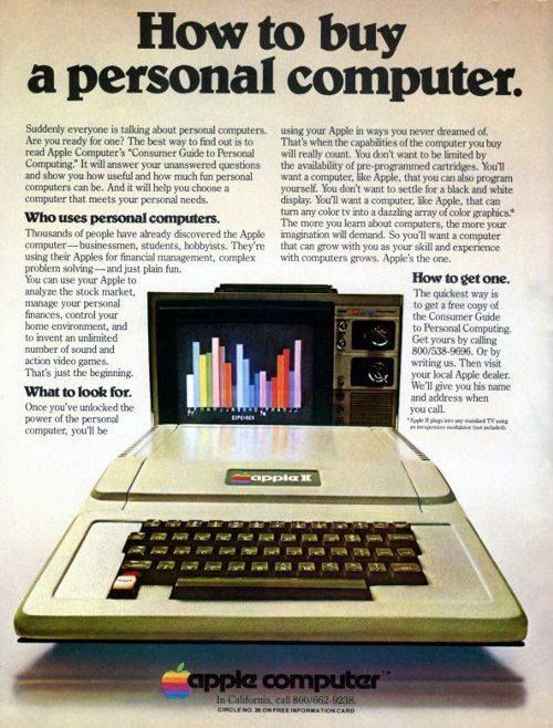apples office. apple iie print adv 1979 apples office