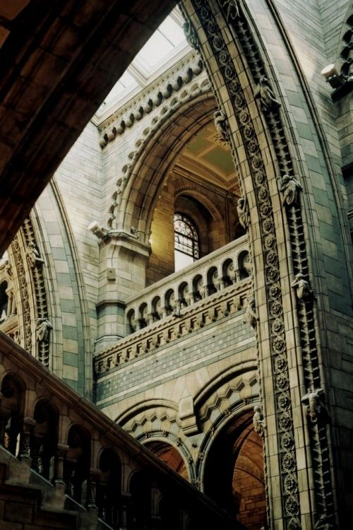 Natural history museum london england architecture for Architecture londres
