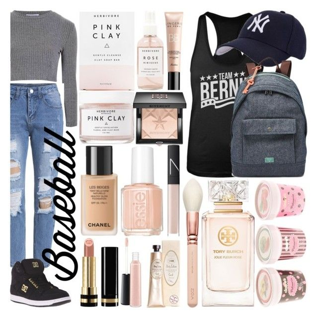 BASEBALL CAP by counterkitty on Polyvore featuring polyvore, mode, style, Glamorous, DC Shoes, FOSSIL, Hartford, Gucci, Givenchy, MAC Cosmetics, NARS Cosmetics, Tory Burch, Herbivore, Essie, fashion, clothing, contestentry, baseballcap and baseballhats