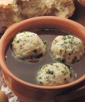 Gombócleves (marhahúsleves)