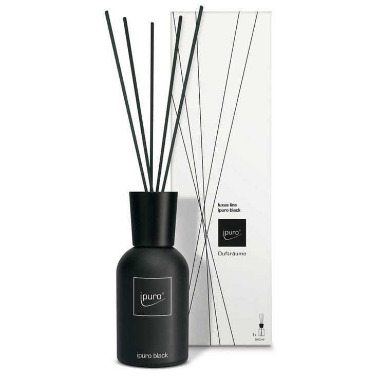 ipuro Raumduft black Diffuser - orientalisch, mystisch - anregend, sinnlich, der Geruch von üppigem Luxus