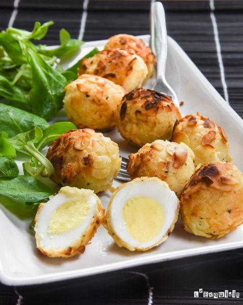 Huevos de codorniz rebozados - L´Exquisit