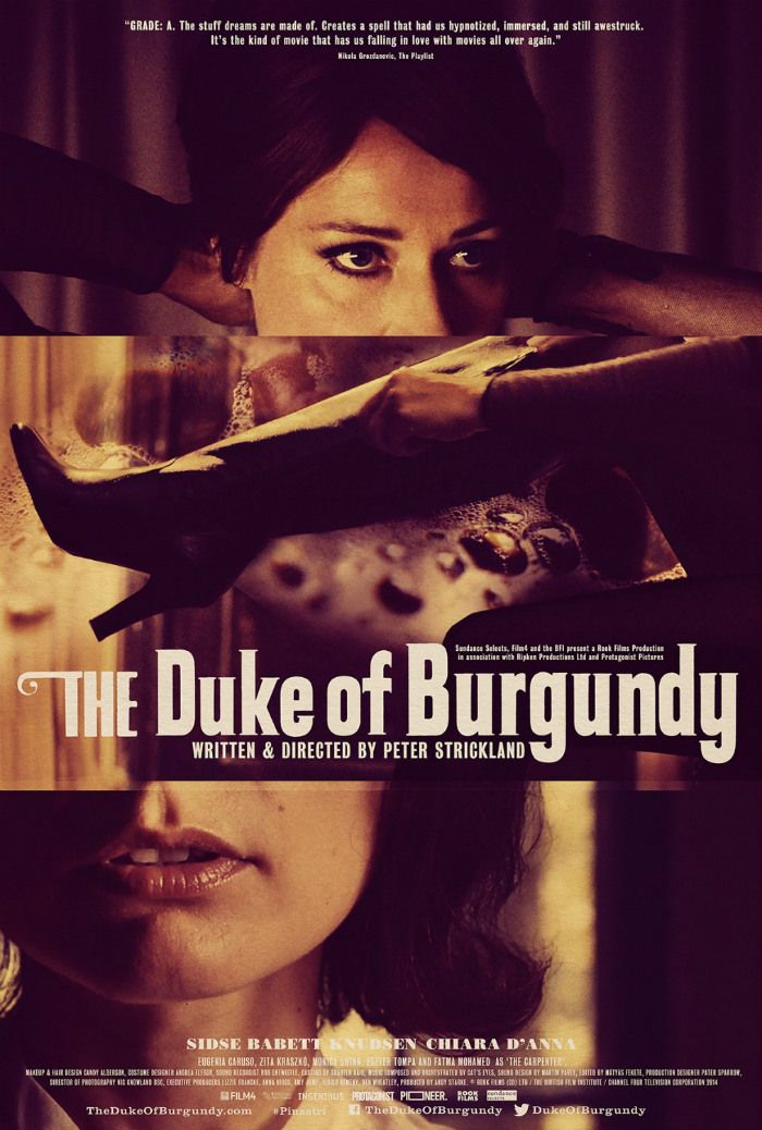 The Duke of Burgundy (2015) with Sidse Babett Knudsen #movies #films2015