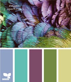 Color Inspirations Board - I really want these colors for my bedroom - grounded with a dark tan