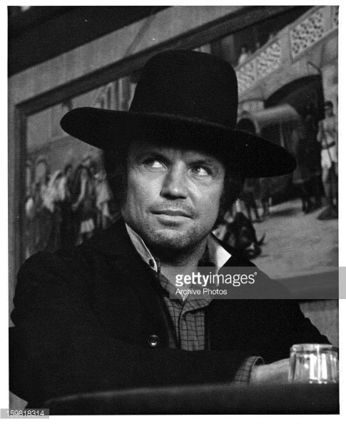 Richard Jaeckel in a scene from the film 'Chisum', 1970.