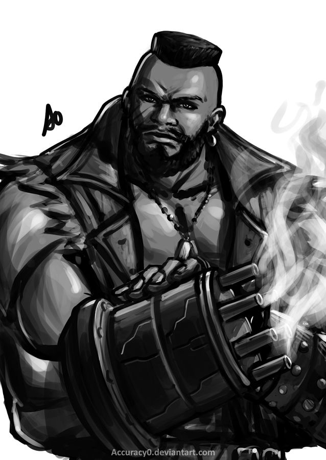 Barret ( Final Fantasy VII The Web Series) by Accuracy0