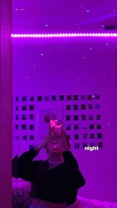 bedroom aesthetic emily paulichi lights neon led inspo rooms selfie teen indie viene ella dream poses wattpad lighting mask griggs