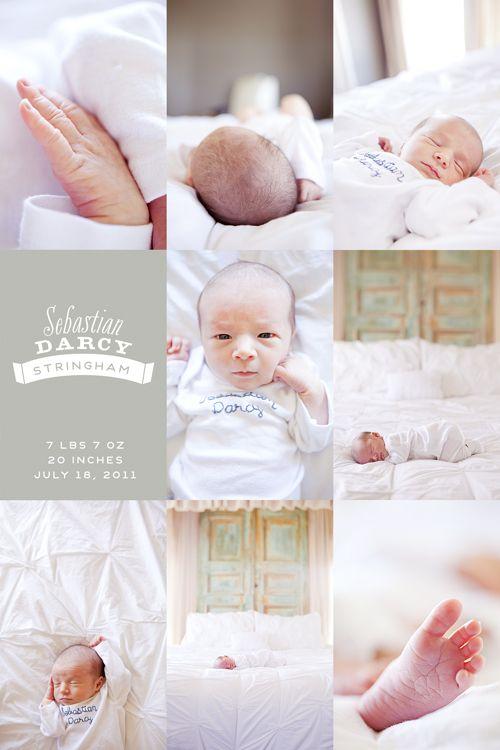 Baby announcement (photos / announcement by Candice Stringham).