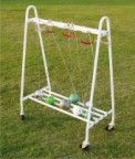 Vinex Hammer Cart / Stand Made of heavy steel tube, with 2 swivel wheels. Suitable for carrying 18 Hammers.