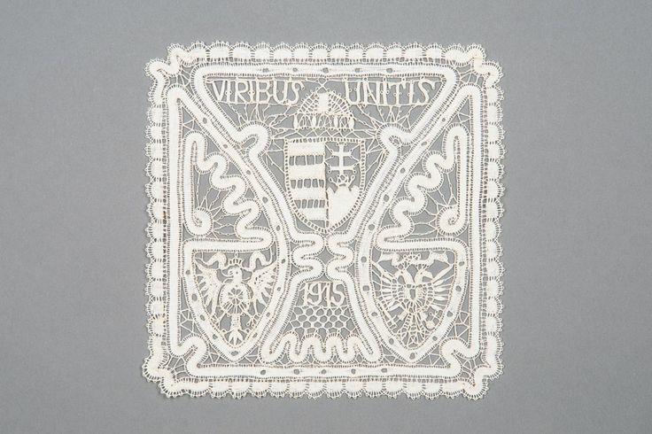 Quadratische Spitze | Rucsinszki, Anna 1915