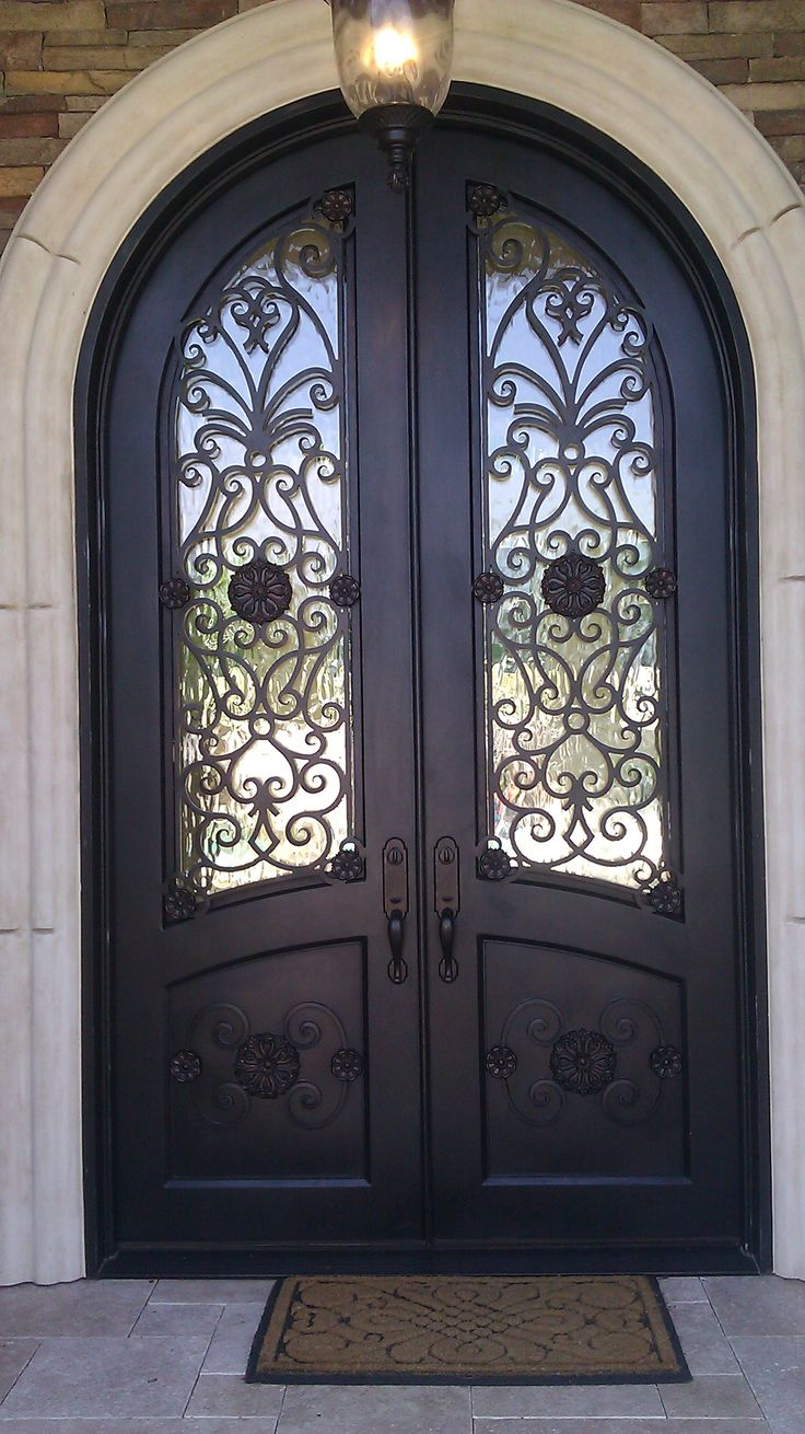 25 best images about doors by design iron doors on for Custom front doors