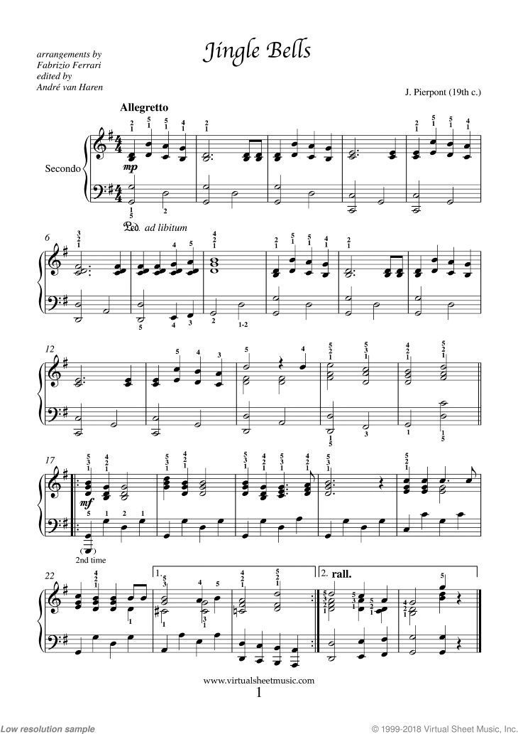 Very Easy Piano Four Hands Duets Sheet Music Songs Pdf