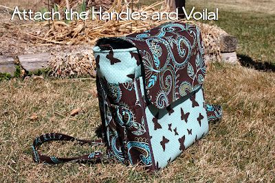 Whistlepig Creek: we do whimsical!: Classic For Moms Diaper Bag photos...still need to buy the pattern...