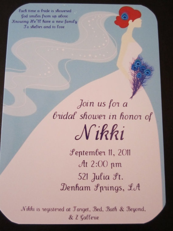 il invitation listing you feathers invitations birthday bridal damask sivz peacock shower