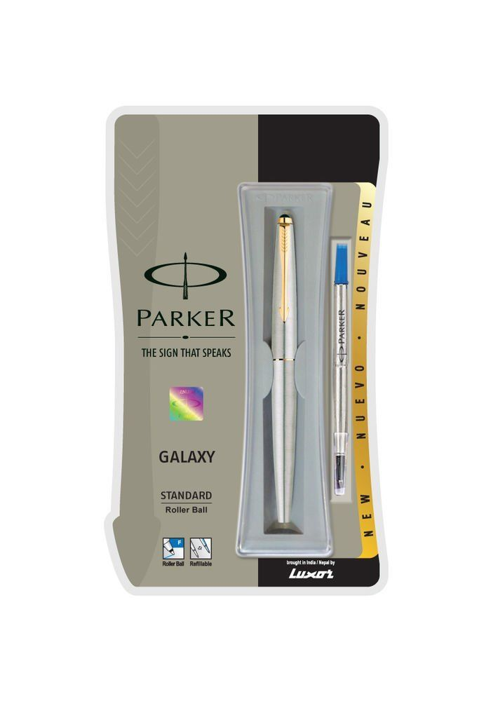 The new design from Parker, meant for those young aspirants who are willing to experiment and love to win. With its tapered body at both ends that gives it a slimmer look Navigator Refills for smooth writing experience. Contact them at +919999140013 for more details.