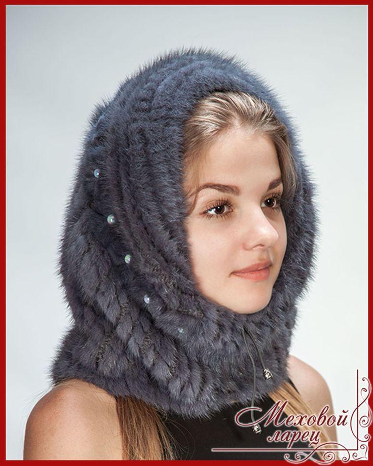 Соня | Женские шапки, мех норки - норка на трикотаже - интернет-магазин «Меховой ларец»