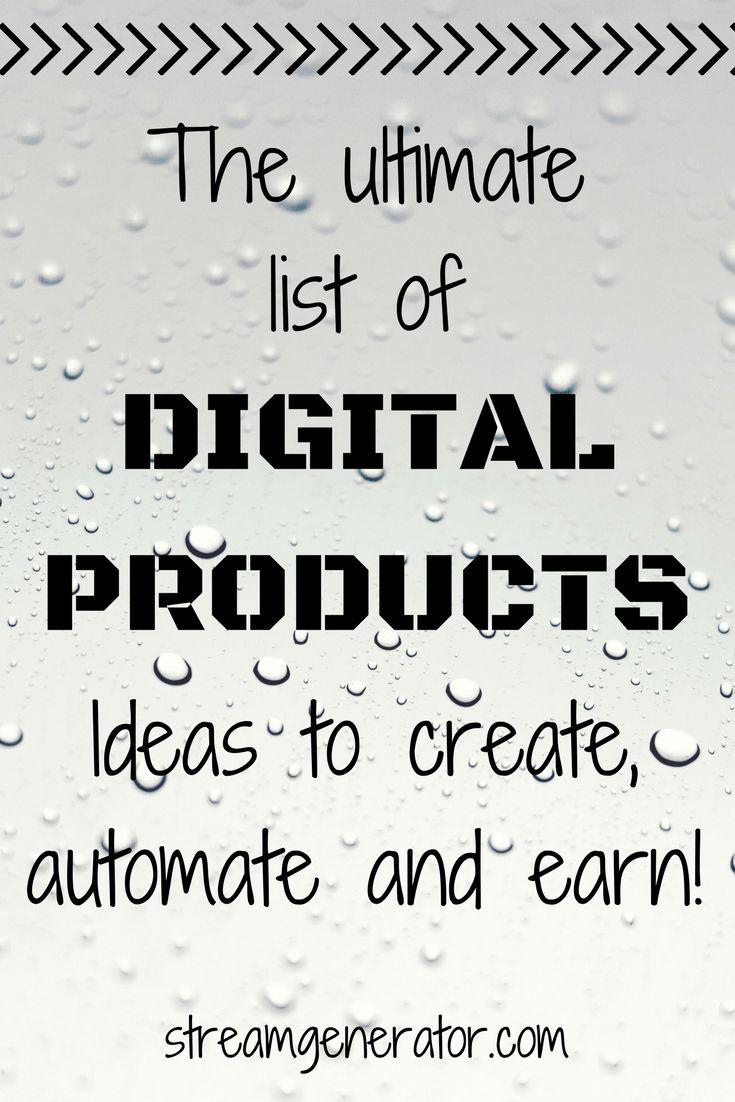 Digital product ideas to create, automate and earn semi-passive income