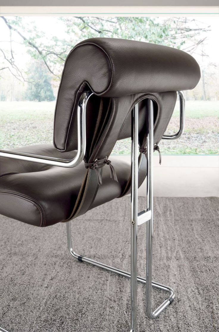 chair guido faleschini leather modern office furniture online stores shops delivery sale home house italia makers quality retailers websites
