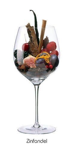 Descriptores aromáticos de la variedad Zinfandel #WineUp #Vinos #Aromas #Copa