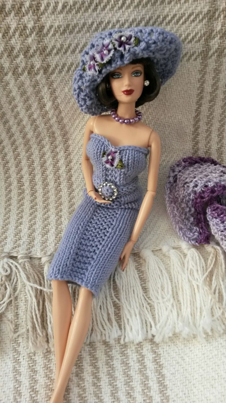 Pin By Pat Auberry On Crochet Doll Clothes Barbie