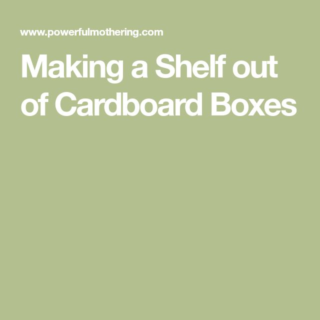 how to make a refrigerator with cardboard