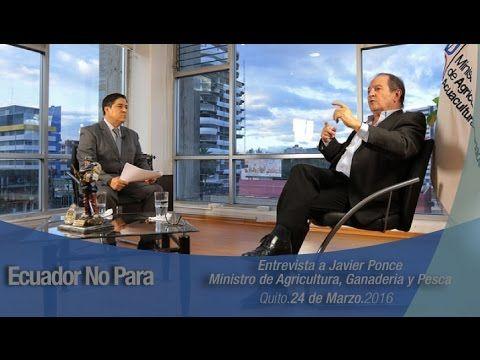 La profundización de la revolución agraria en Ecuador gira en torno a cinco ejes, destaca ministro Javier Ponce | ANDES