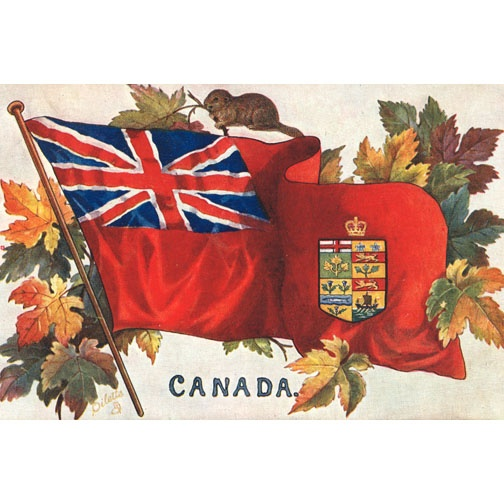 Before the the Maple Leaf Flag wars were fought, lives lost and our way of life preserved by brave Canadian Soldiers fighting under the Red Ensign.
