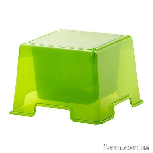 ИКЕА ПС 2012 Стол детский, зеленый 902.023.86