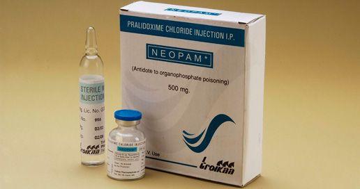 Pralidoxime : medicine/ antidote for isoflurophate actions.