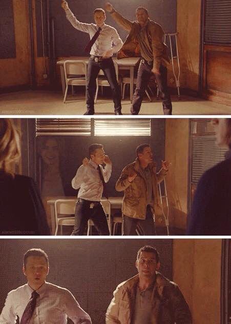 Dancing Ryan & Esposito