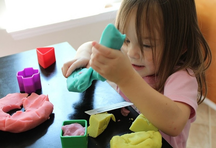 I have made a lot of playdough over the years and this truly is the BEST homemade playdough recipe EVER! Make 6 batches for a class of 24