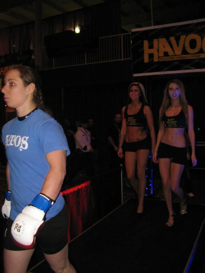 Women's MMA should maybe have WalkOut Guys?