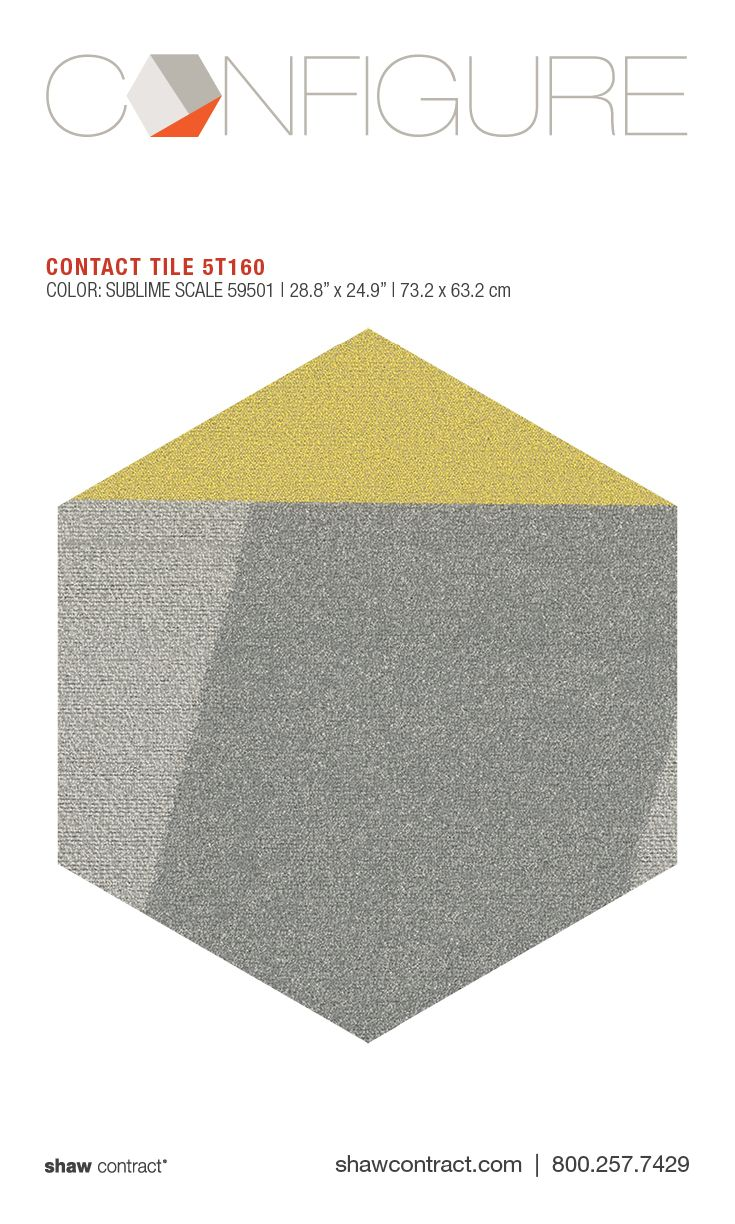 style contact tile 5t160 color sublime scale commercial hexagon carpet tile