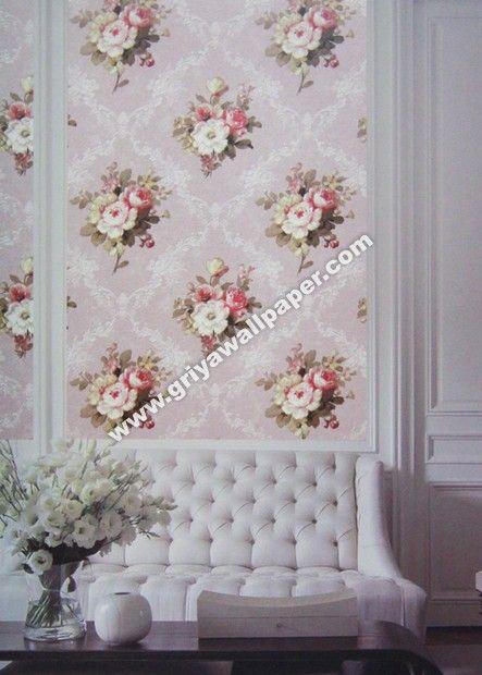 Gallery Pemasangan Wallpaper Dinding Flower Shop 2   Griya Wallpaper