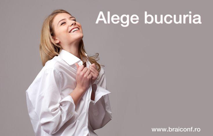 Alege bucuria! De acum poți comanda din noua secțiune pentru femei a magazinului online.  www.braiconf.ro/magazin-online/femei