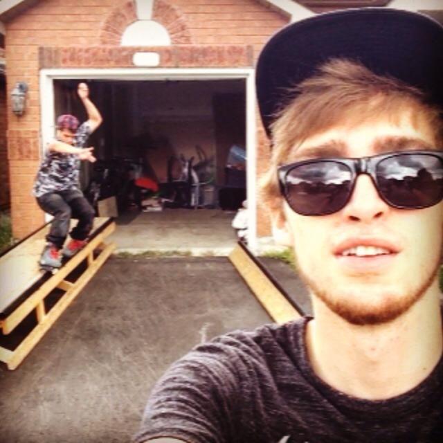 Aaron Garcia Topsoul. Brandon Reitsma Selfie.