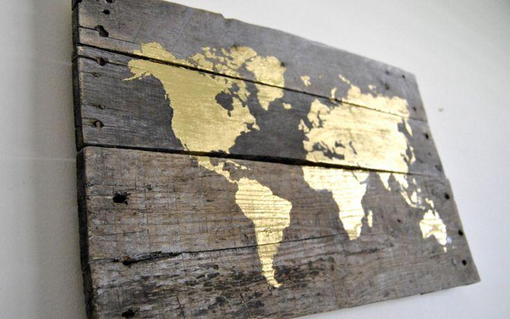 17 mejores ideas sobre cuadro mapamundi en pinterest - Mapamundi pared ikea ...