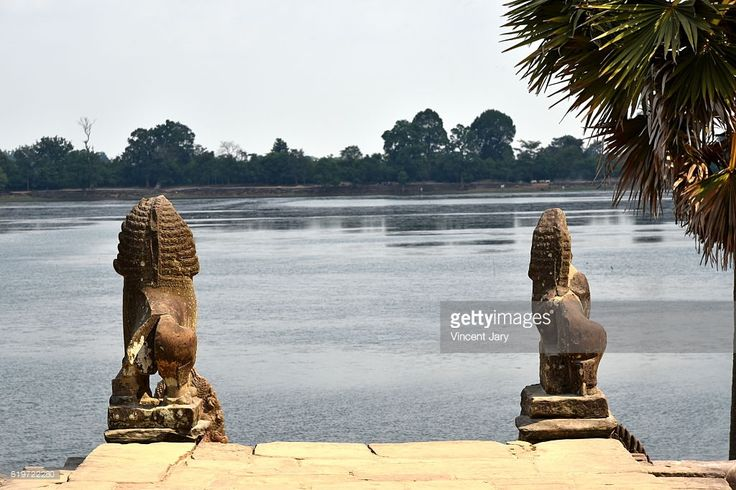 Srah Srang is a baray or reservoir at Angkor, Cambodia, located south of the East Baray, Siem Reap, Cambodia. #getty #images #photo #photography #photographer #travel #traveling #ruins #archeology #temple #unesco #protection #building #stone