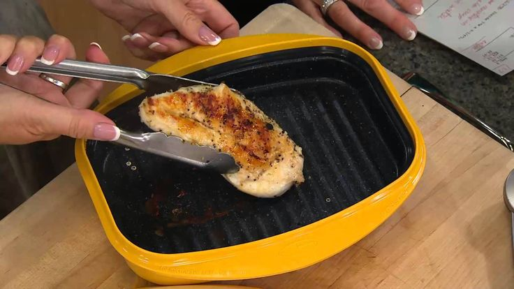 Rangemate 3 pc set Nonstick Microwave Grill Pan with Mary Beth Roe