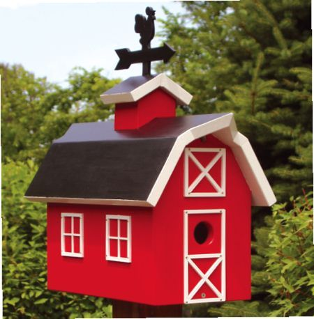 Barn Birdhouse Woodworking Plan - WoodWorking Projects & Plans
