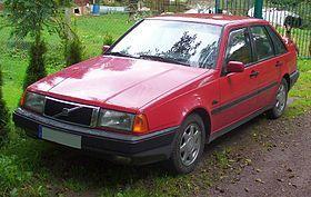 Volvo 440 red – 1987