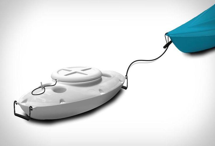 Pull-Behind Kayak Cooler