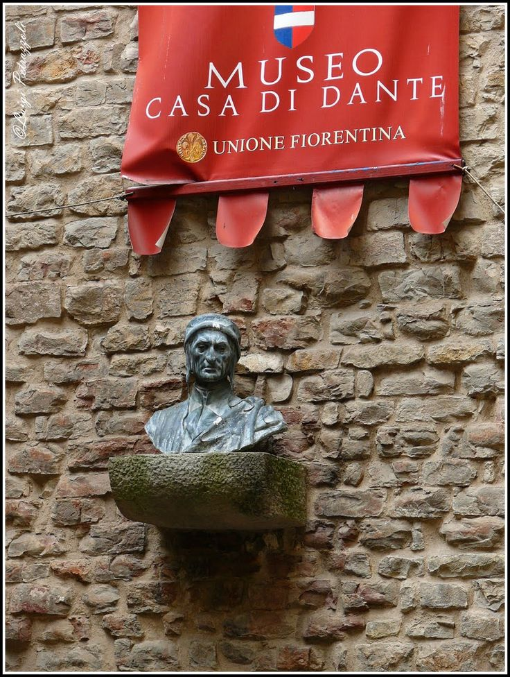 FLORENCE, ITALY   l    Dante's life and legacy is documeted in the Dante Museum, Firenze