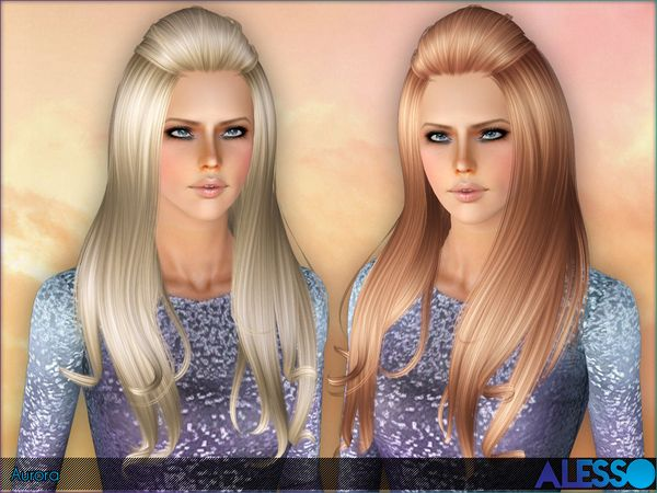 Emma's Simposium: Free Hair Pack #119 By Alesso - Donated/Gifted!!!