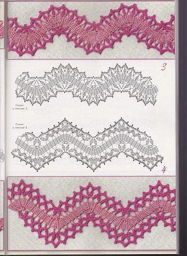 crochet bruges lace tape