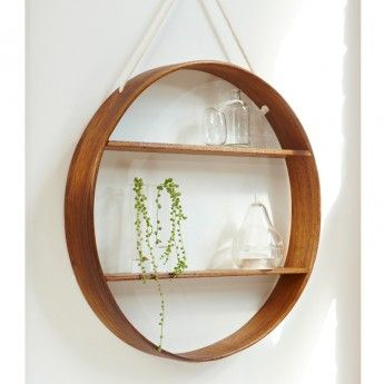 circular wall shelves