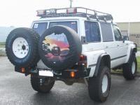 Patrol GQ Wagon Twin Wheel Carrier