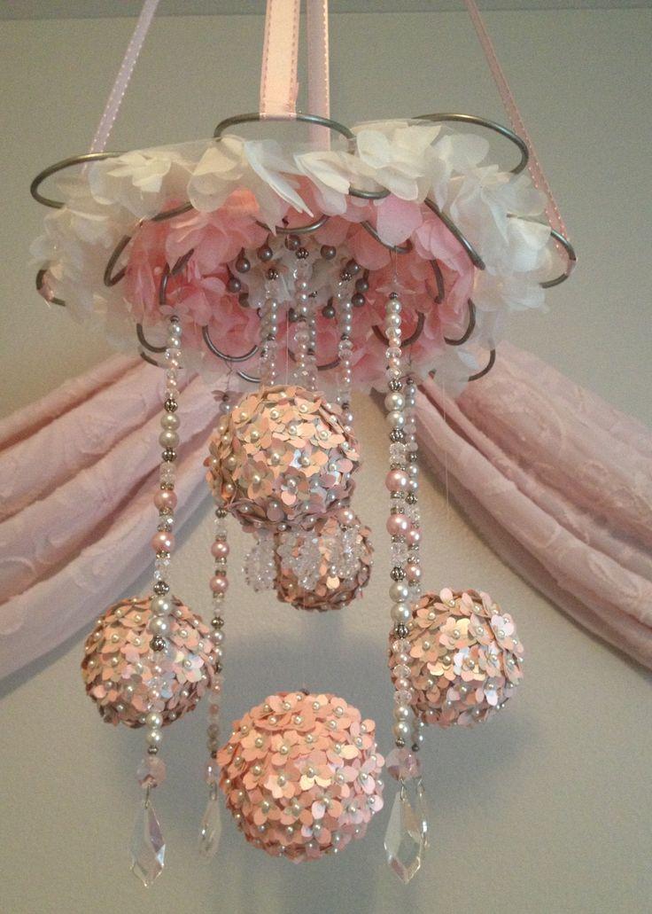103 best hanging nursery decor images on pinterest child room diy baby mobile aloadofball Choice Image