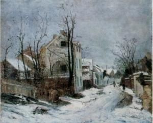 winter in barbizon
