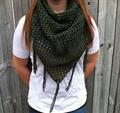 Liz Infinity Scarf by Lizabeth Designs free crochet pattern  ❥Teresa Restegui http://www.pinterest.com/teretegui/❥